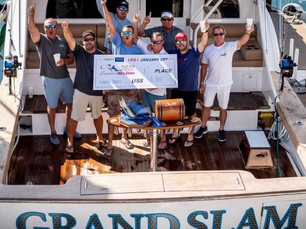Grand Slam first prize for Leg I of Los Suenos Triple Crown Tournament